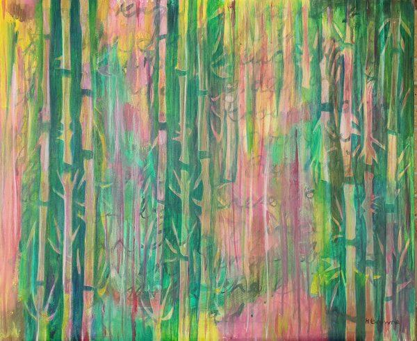 Bamboo 60x50cm