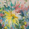 Big Yellow Flower By Amber Gittins