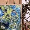 Carita Farrer Spencer Little Wild One 40x40 Insitu Detail