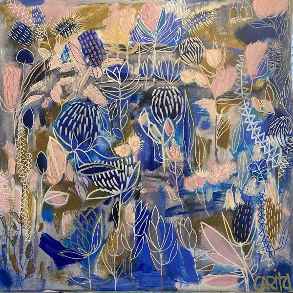Carita Farrer Spencer New Blue 100x100