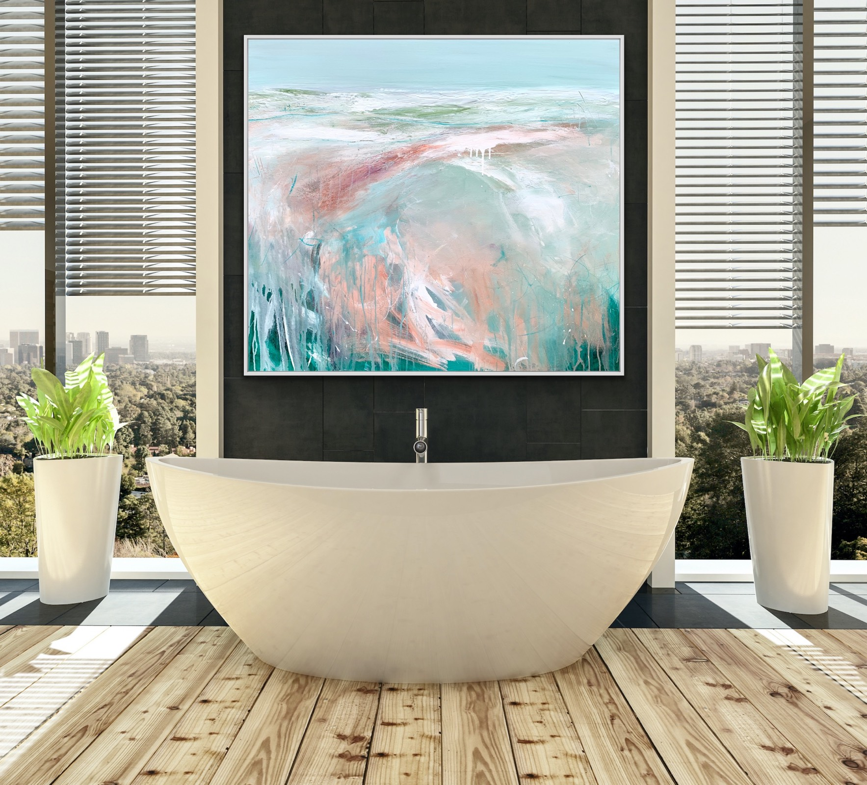 Coastal Picnic Tania Chanter Inroom