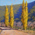 Autumn Poplars Oberon