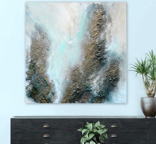 Gold Painting For Sale By Petra Meikle De Vlas2
