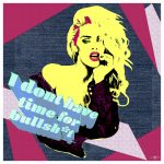 Last 10 – I Don't Have Time in Pink Ltd Ed Print