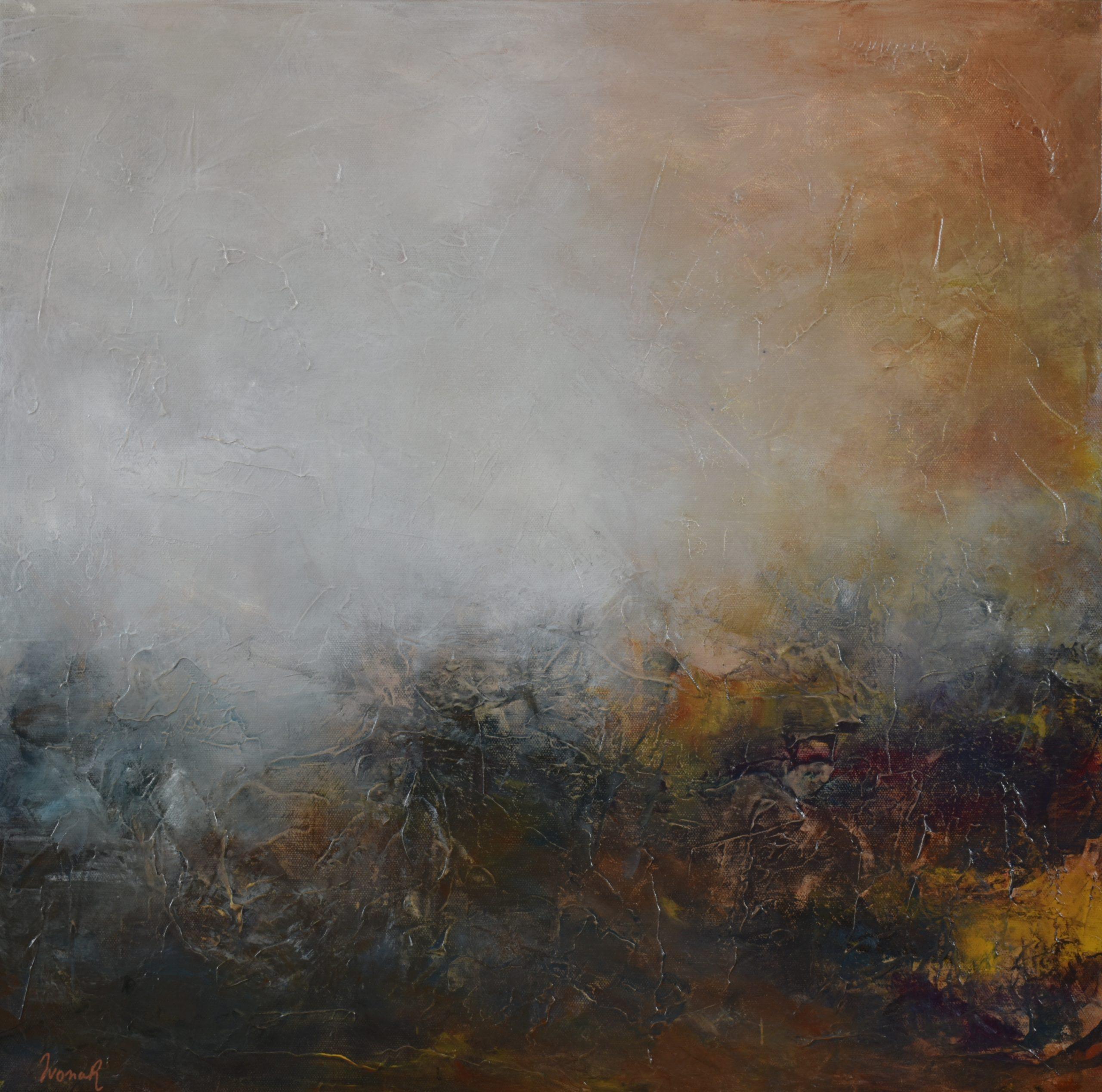 Ivona Radic Timeless 56×56 Abstract Landscape