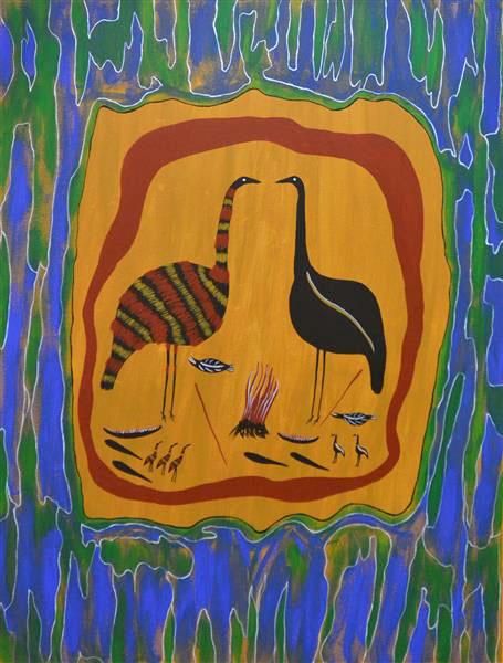 John Williams Turkey And Emu No 9997c11 15