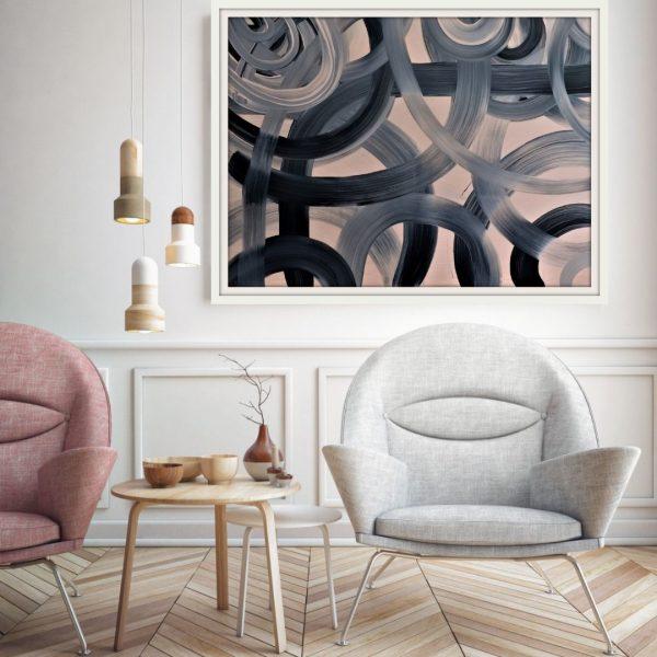 Karen Fourie Kinetic Heartbeat Insitu Living Room 1