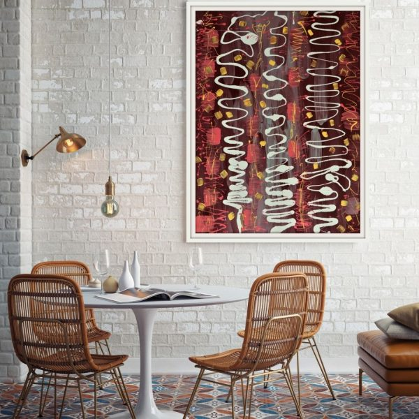 Karen Fourie Sunshine Scribbles Insitu Dining Room