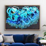 Pacific Ocean – Ocean Abstract Flowers