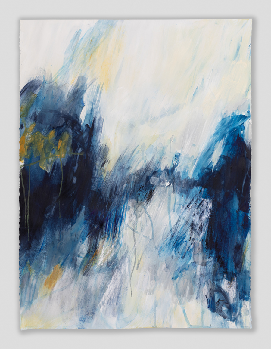 Rachel Prince Abstract Landscapewop1 01 50.8cmx76.2cm Acrylic On Canvas $550 Quiet Reflection Series 2020