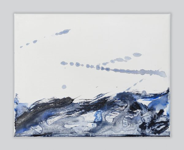 Rachel Prince Wave Of Life5 01 25.8cmx22cm Acrylic On Canvas $130 Ea $910 For 7 Quiet Reflection Series 2020