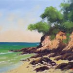 Sandy Cliffs At Noosa