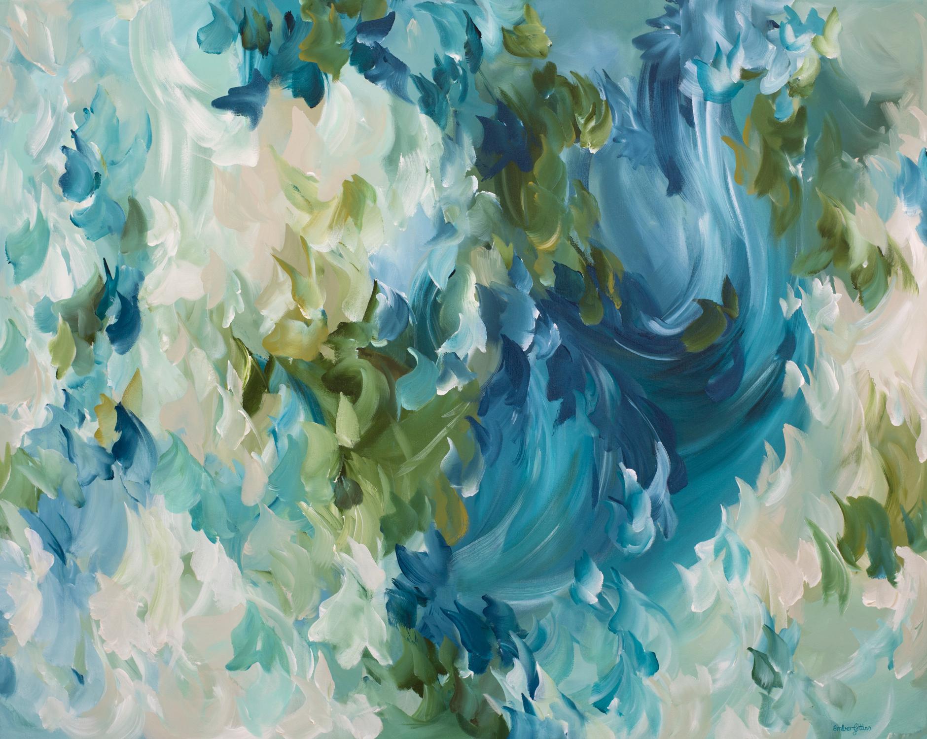 Sea Breeze By Artist Amber Gittins