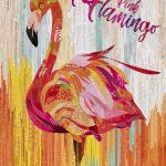 Pink Flamingo – Original Collage