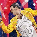 Fabulous Freddie at Wembley Stadium