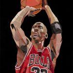 MJ – The Goat – Original Collage