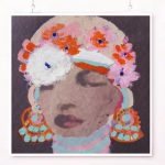 African Queen Ltd Ed Print Canvas and Paper