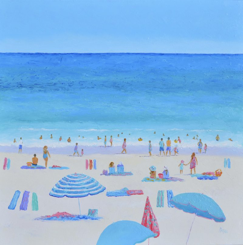 The Delights Of Summer Beach Painting By Jan Matson 2019 800x807