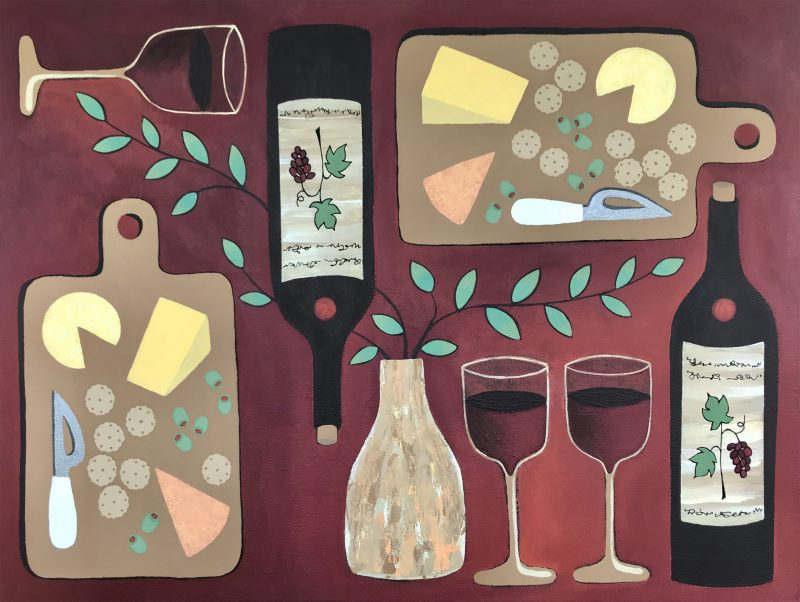 Wine O Clock By Lisa Frances Judd Front 800x602