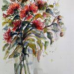 Gumnut blossoms No 3 (Framed)