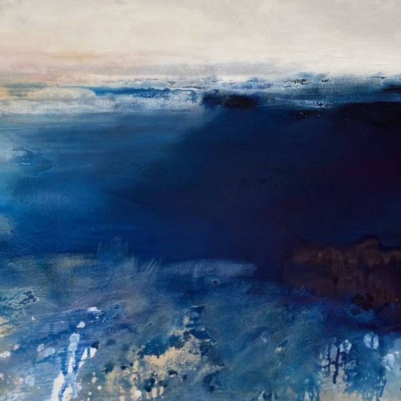 Kathleen Rhee Abstract Paintings I Can See Clearly Now Art Lovers Australia
