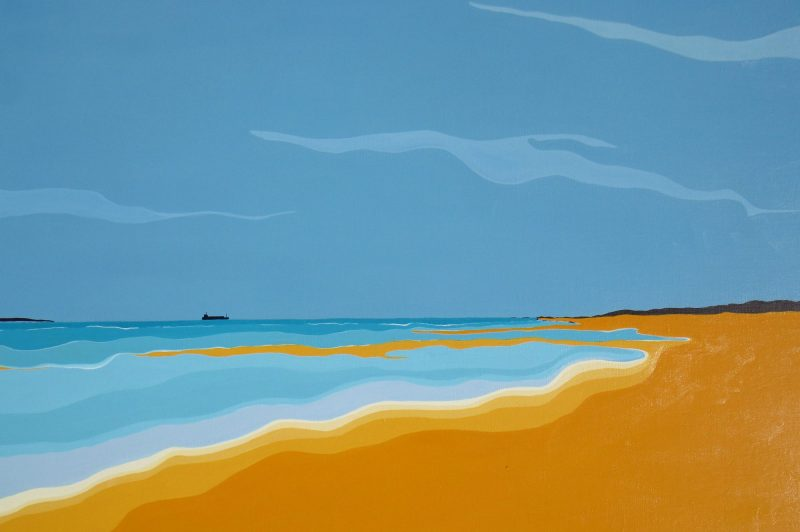 Marian Quigley Seascape 3 Art Lovers Australia