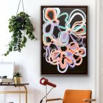 Retro Love – Abstract Flowers