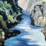 River Running Blue
