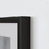 A Frame Profile Black