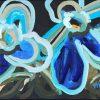 Blue Sunrise Jen Shewring 2020 30x22.5cm Acrylic On Canvas