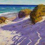 Shadows across the dunes