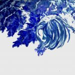 In the Park – Blue Wash Ltd Ed Print
