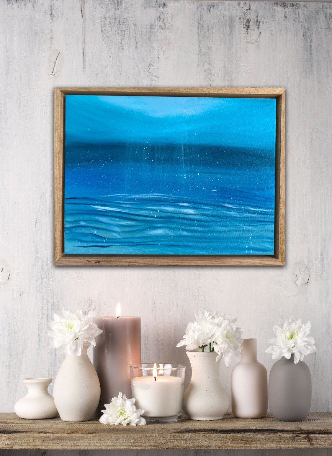 Find Me Here Alanah Jarvis Ocean Painting Oil Paint
