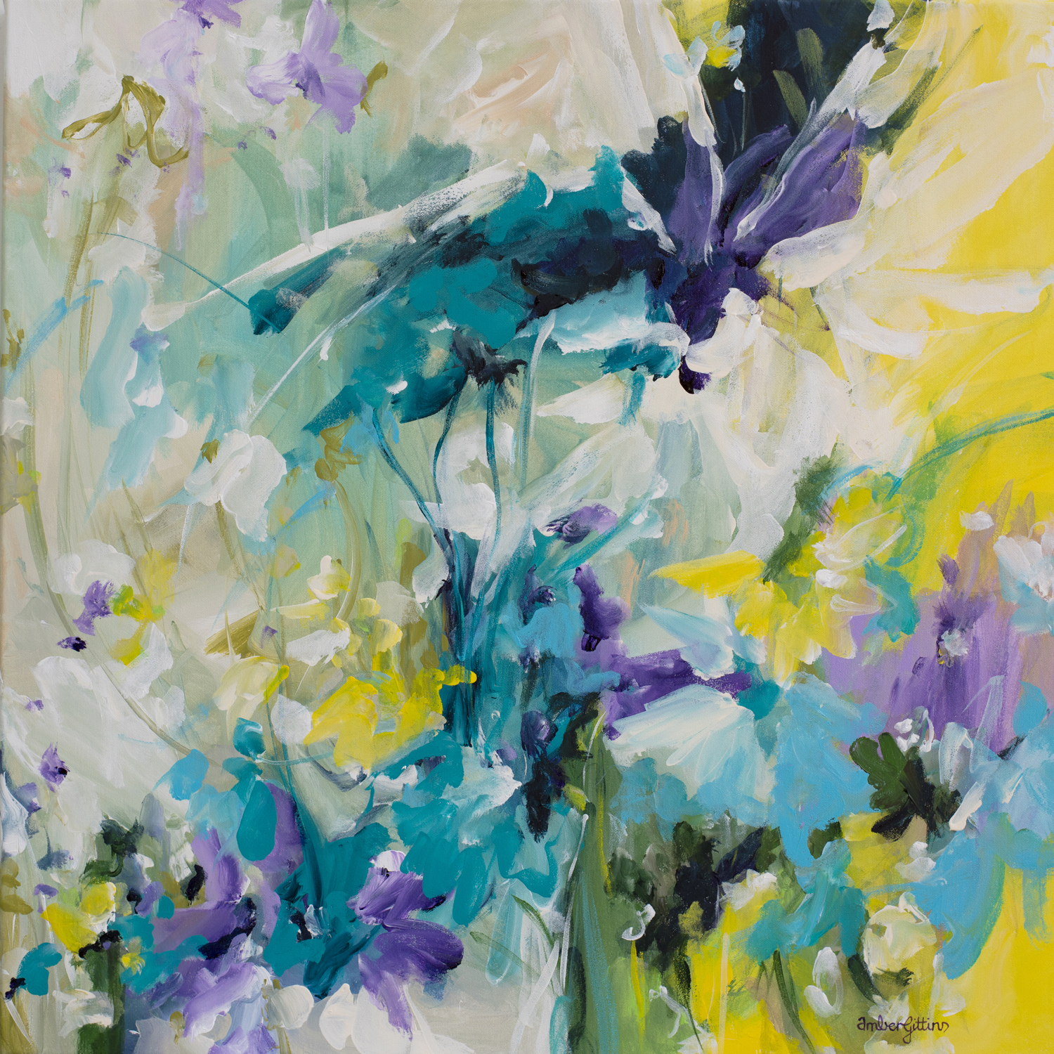 Happiness Blooms By Amber Gittins