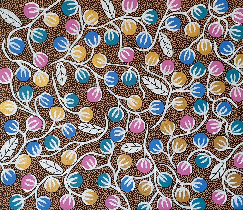 Kayannie Denigan Artist My Nannas Country Art Lovers Australia