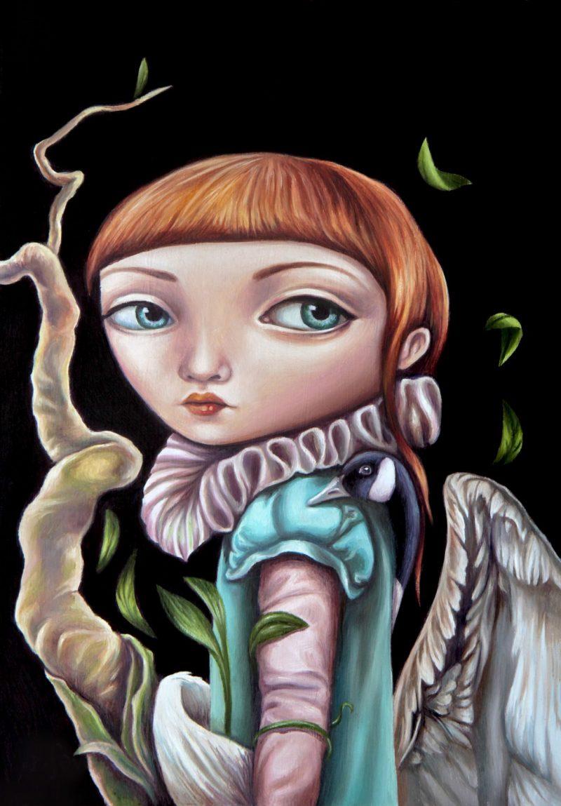 Of Birds And Beanstalks Print 800x1149