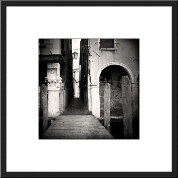 Pcb1463sq Venice Jetty (s) Framed