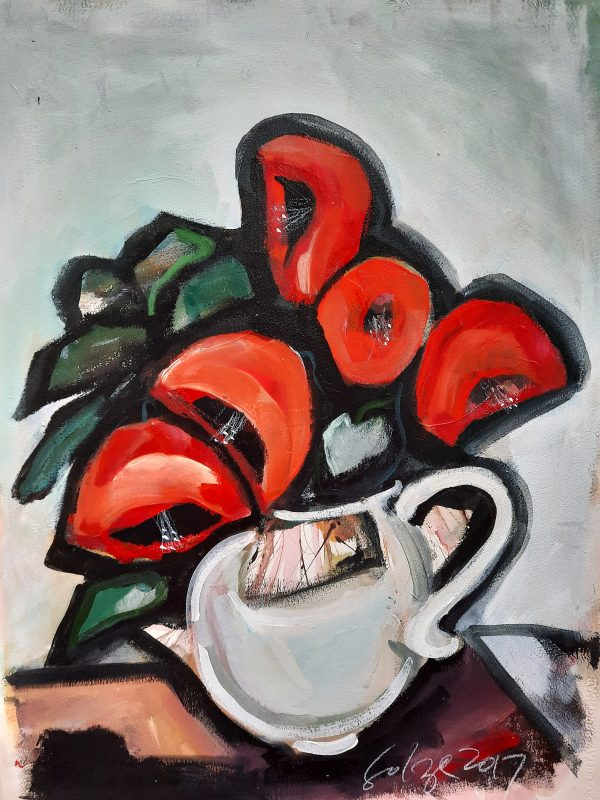 Poppies In A Teacup
