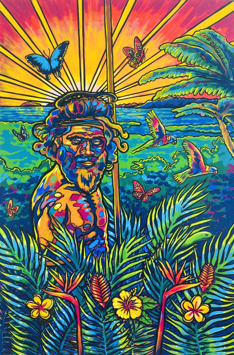 Rainforestwarrior Luke Mallie