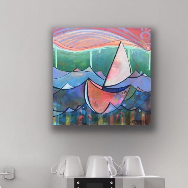 Sail On By Cat Dolphin Insitu