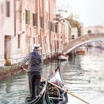 Venice Canal – The Gondolier — Ltd Ed Print