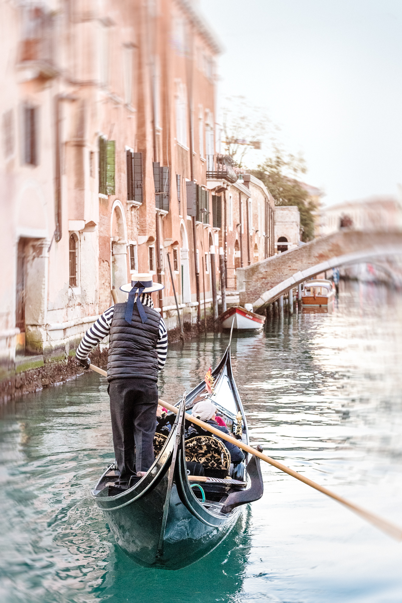 Venice Canal The Gondolier