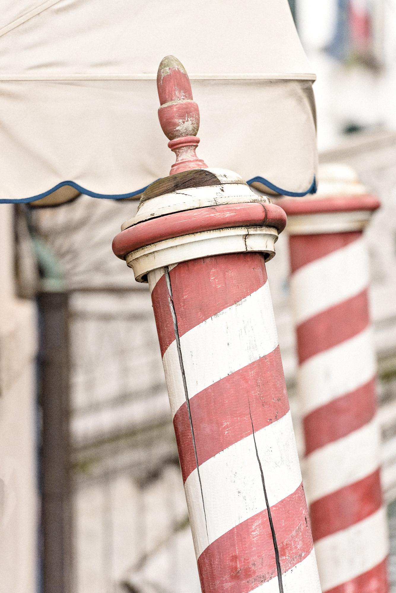 Venice Details Canal Poles