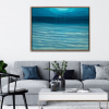 Alanah Jarvis Insitu Living Room Underwater Abstract Painting