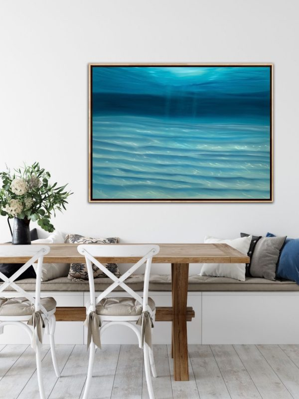 Alanah Jarvis Underwater Painting Abstract Art