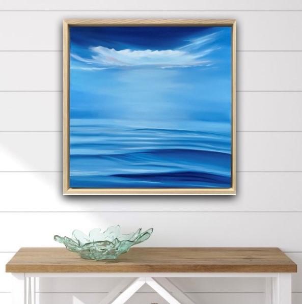 Coastal Close Up Alanah Jarvis Ocean Painting