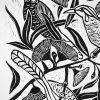 Wattle Birds Detail 1