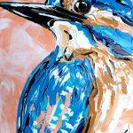 Apricot Kingfisher