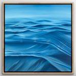 A Silky Sea – ocean abstract