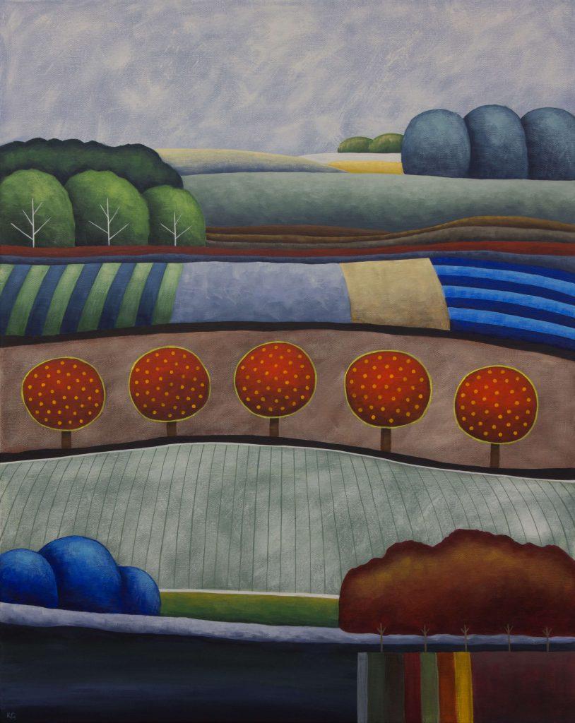 Dusk And Dreams No.2 24x30 Large 814x1024